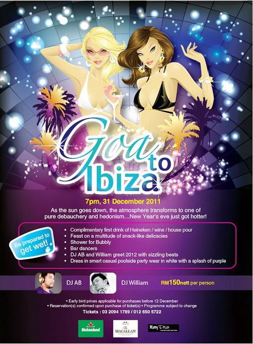 Goa to Ibiza