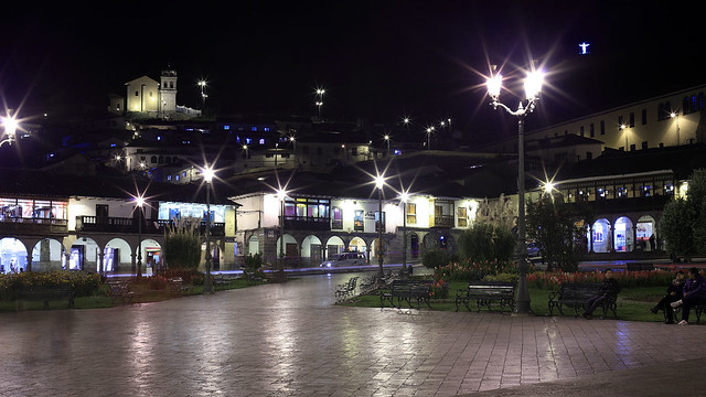 Evening in Cusco