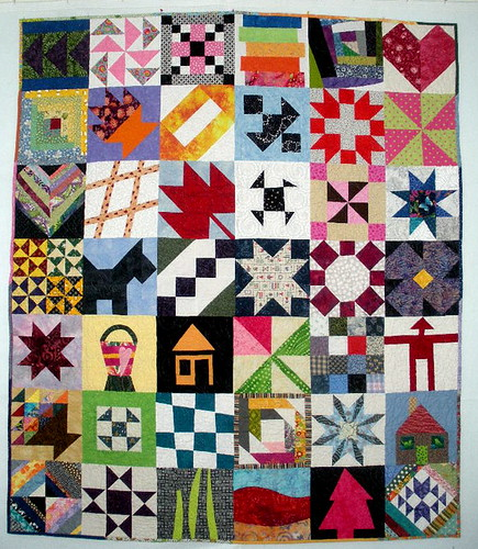 Block Lotto Community Quilt