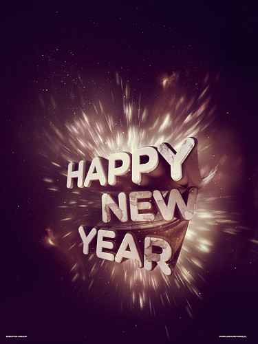 Happy New Year by Sebastián Andaur / http://work.andaurstudios.cl +