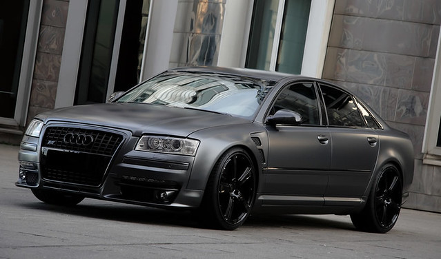 Audi S8 Superior Grey 1