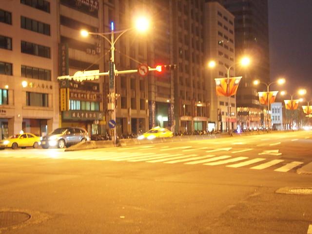 台北の早朝