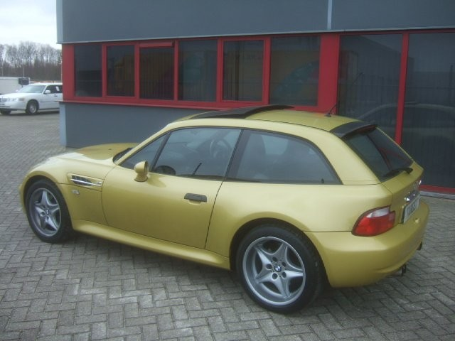 S54 M Coupe | Phoenix Yellow | Black