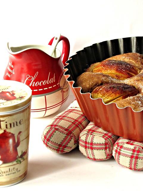 Torta di Mele Caramellate alla Cannella (2)