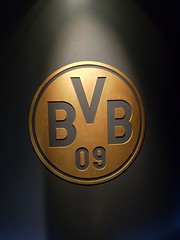 Borussia Dortmund - Eingang zur Schatzkammer im Borusseum