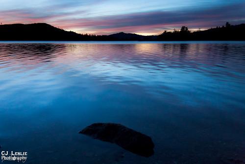 california lake sunrise redding whiskeytown