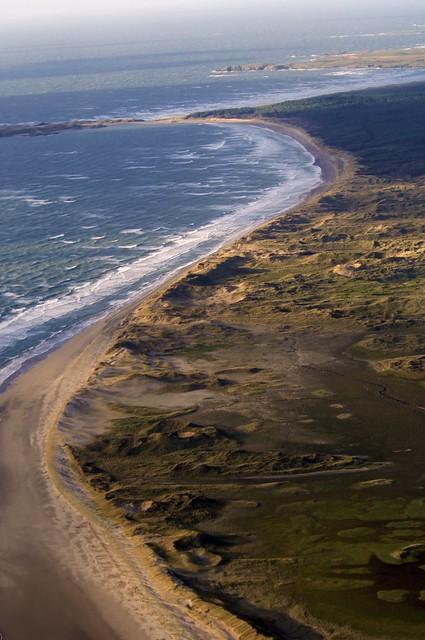 Caernarfon coastline