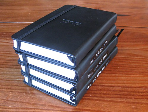 4 Rhodia Webbies: correspondence journals for 2011