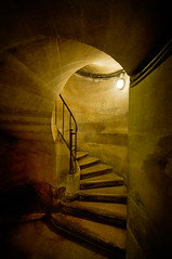Light from the crypt