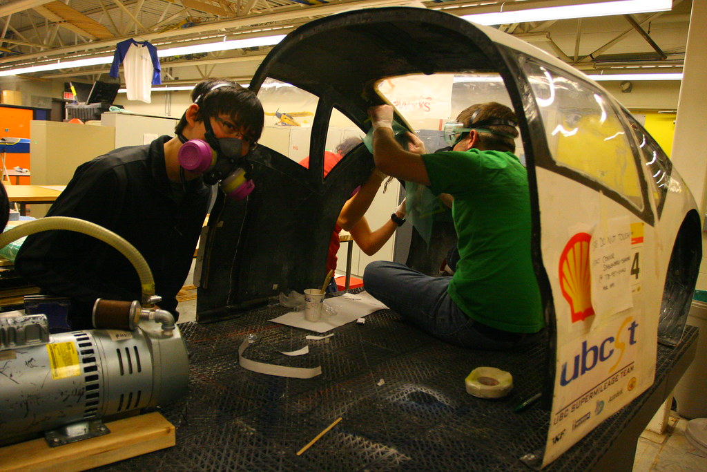 Working on the Aero Shell