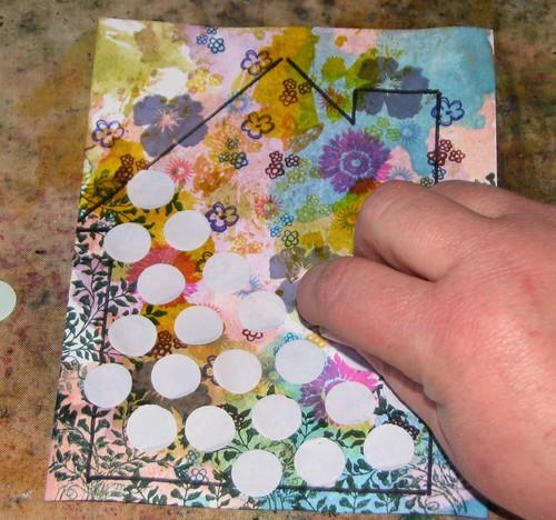 2012 Tech Calendar - April - Reverse Grid Stamping 005