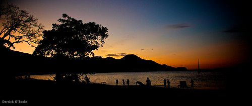 Costa Rican Sunset by Wifihighfive