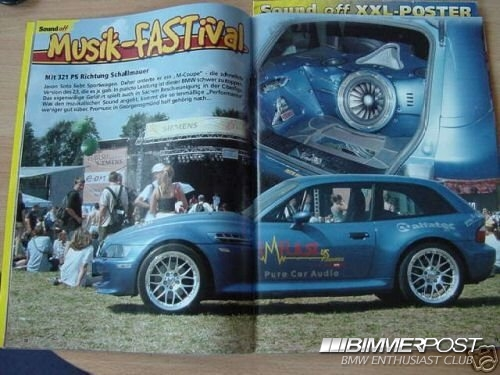 2001 M Coupe | Estoril Blue | Black
