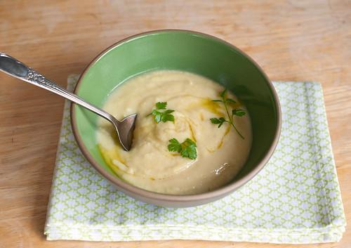 parsnip leek soup