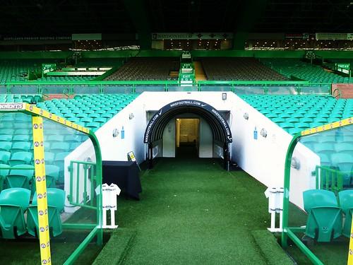 Players Entrance Tunnel, Celtic Park