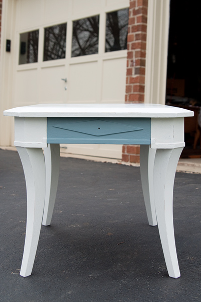 end table - primed