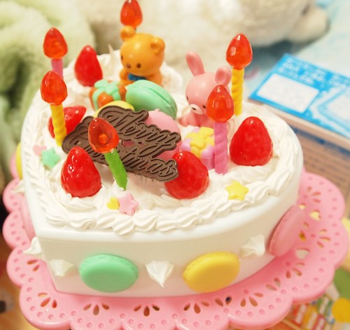 ホイップる ハートのケーキ