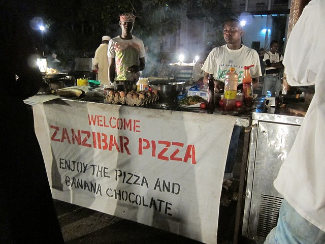 Zanzibar Pizza at Forodhani Gardens, by fabulousfabs