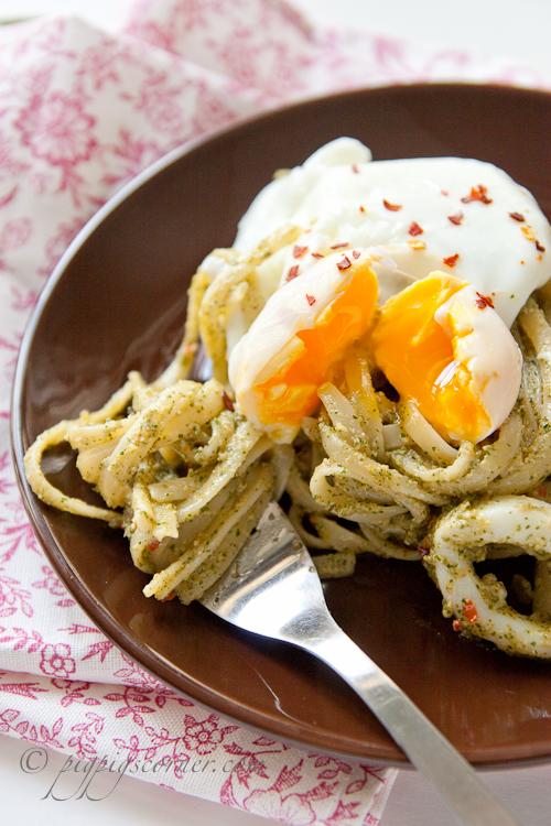 Laksa & Cashew Nut Pesto Linguine