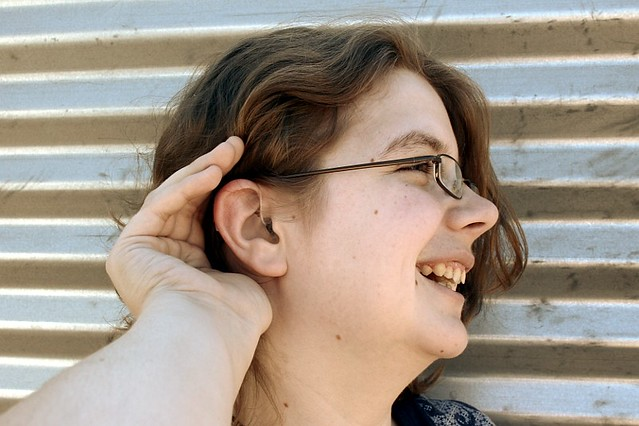 From June 2010 - Me and my hearing aid