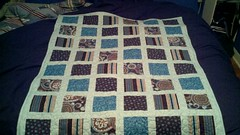 January 10th - finished quilt.