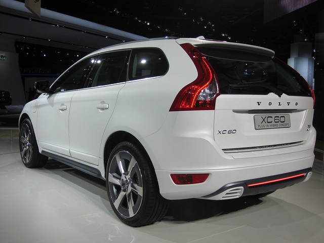 volvo xc60 plug in hybrid at naias 2012 for more info and flickr photo sharing. Black Bedroom Furniture Sets. Home Design Ideas