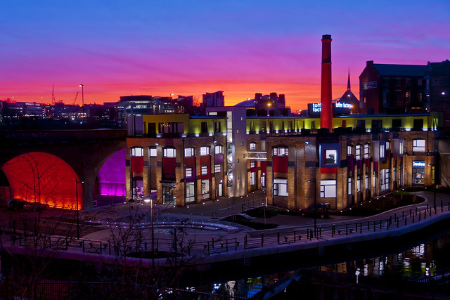 Toffee Factory Sunset