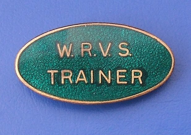wrvs women�s royal voluntary services trainer