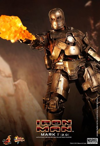 Hot Toys Iron Man Mark I 2.0_preview pictures