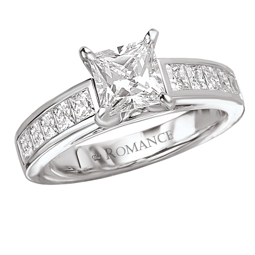 PRINCESS SETTING ENGAGEMENT RING