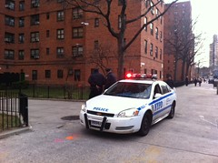 Police at Lillian Wald