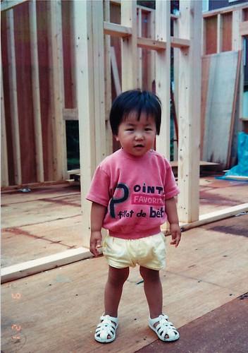 HawkA 幼少期の写真