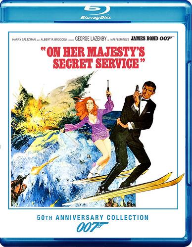 ON HER MAJESTY'S SECRET SERVICE Blu-ray - a photo on ...