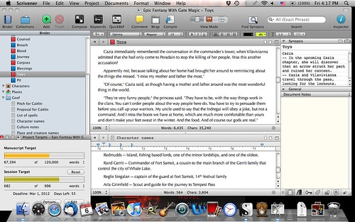 Scrivener Screencap