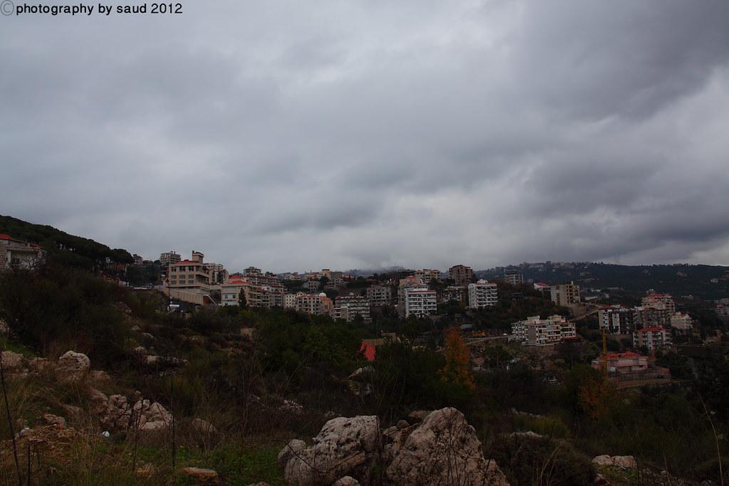 بيروت الشتاء مايحمله وثلوج وأمطار وضباب 6697178101_2722fb21f