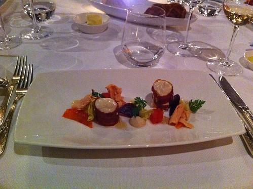 Dinner at Michelin star restaurant De Bokkepruik in Hardenberg