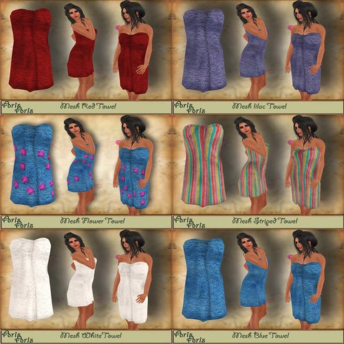 Arisaris - Towel six colours by Cherokeeh Asteria