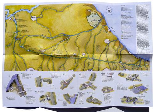 mappa acquerellata per il CER