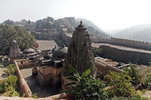 Temple to Ganesha, and walls