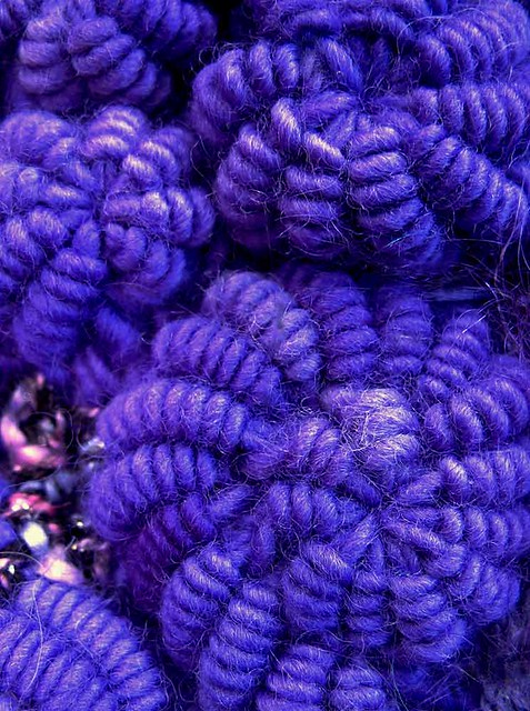 Crochet Patterns Explained : crochet bullion stitch spirals by Prudence Mapstone-Crochet-Bullions ...
