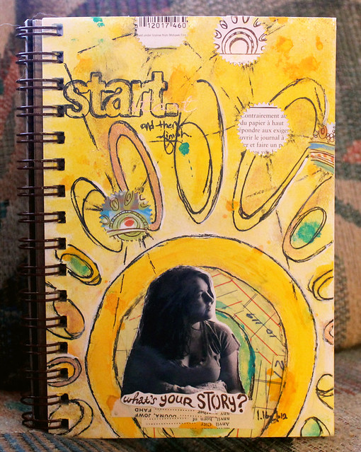 Start - A Year in the Life of an Art Journal