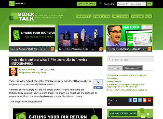 H&R Block Corporate Blog