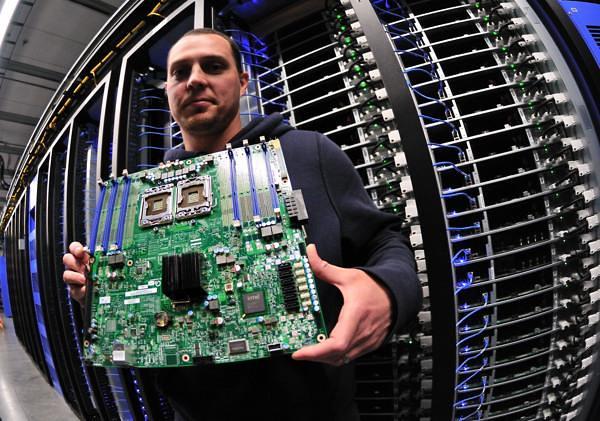 Facebook Data Center Server Board