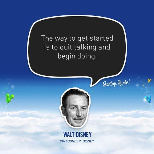Walt Disney Inspirational Quotes