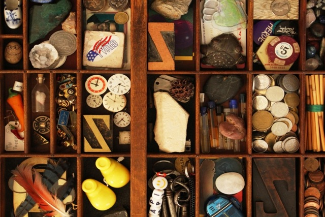 My father's treasures.