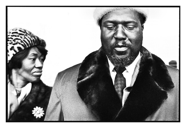 Thelonious Monk and his wife Nellie