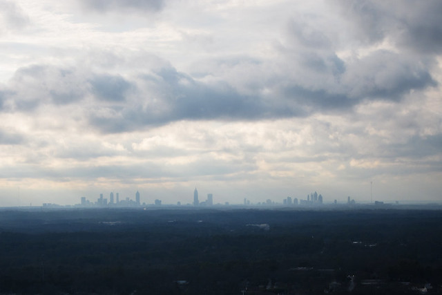 Atlanta, from Stone Mountain