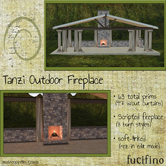 Fucifino.tanzi outdoor fireplace for ZombiePopcorn Brand