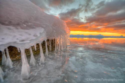 A Little Sunrise Ice Magic ...