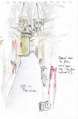 En montant à la cathédrale